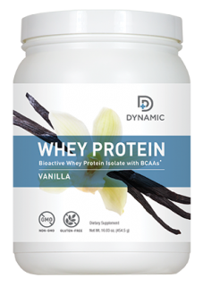 Dynamic Whey Protein - Vanilla (15 Servings)