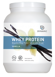 Dynamic Whey Protein - Vanilla (30 Servings)